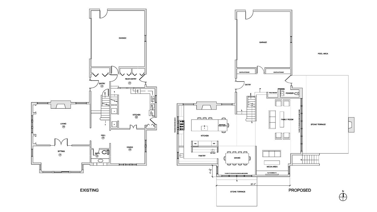 Winnetka New Construction Floor Plan